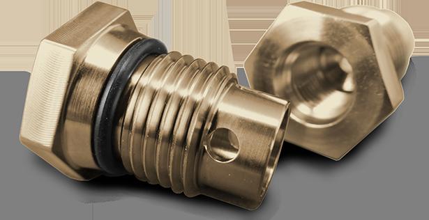 Custom Plugs—Including Transmission, Oil & Boat Drain Plugs
