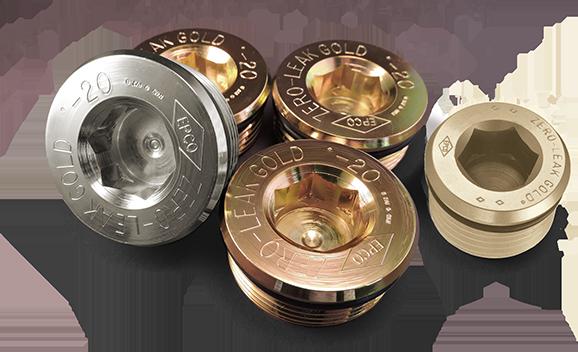 Materials & Finish | Zero-Leak Gold Plugs